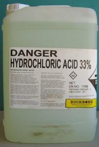 Asam klorida hcl